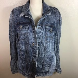 ASOS Dark Wash Jean Jacket